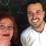 Avec Julia Sedefdjian, plus jeune cheffe étoilée de France