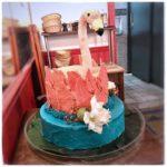 Cupcake Cupidon, chocolat-framboise